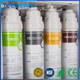 Kictchenまたは逆浸透のろ過膜+GAC+ 4の段階の合成フィルター水清浄器のための最上質水フィルター