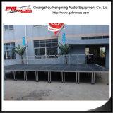 Aluminiumlegierung-Stadium mit Handschienen-Verwendung-Stadium