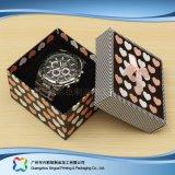 Montre/bijou/cadeau de luxe cadre de empaquetage en bois/papier d'étalage (xc-hbw-003)
