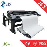 Jsx-2000専門ファブリック布のインクジェット図形デッサンおよび打抜き機