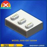Dissipatore di calore personalizzato per la strumentazione di controllo dell'apparecchiatura di collaudo