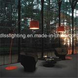 屋内Decoartionの床ランプを立てる現代シンプルな設計大きいアルミニウムカバー