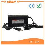 Cargador de batería del vehículo eléctrico de Suoer 48V 1.3A para la batería de plomo (MB-4820A)