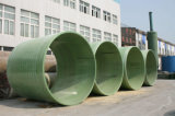Tubulação da fibra de vidro para a água ou o transtorte de Chemcail