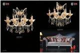 Golden Clip Hot Sale Crystal Chandelier Light