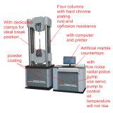 2000kn 6コラムのColomicrocomputerの制御された電気流体式のサーボユニバーサル試験機