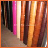 Пленка PVC деревянного зерна PVC прокатывая для профиля окна & двери