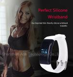 Het draadloze Slimme Horloge van de Armband met Manchet Bluetooth van de Activiteit van de Slaap van de Sporten van het Spoor van de Monitor van het Tarief van het Hart de Slimme