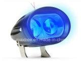 単一カラー青いLEDポイント作業ライトフォークリフトの警報灯