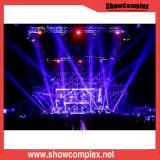 Showcomplex 3mm SMD farbenreiche Miete LED-Innenbildschirmanzeige/Bildschirm-/des Panel-P3 Kurve