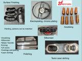 CNC en el metal que procesa la pieza de maquinaria