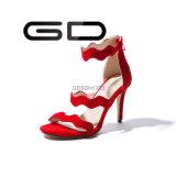 Sandali eleganti dell'alto tallone della fabbrica delle nuove donne sottili di modo