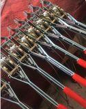 ワイヤーロープが付いている手動ケーブルの引き手
