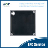 Plaque automatique de filtre-presse de membrane de séparation liquide de Soild