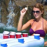 170cm 67inch поплавка бассеина таблицы Pong пива отверстия 28 чашек ведро льда тюфяка воздуха потехи партии воды лета раздувного новое горячее