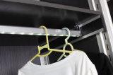 センサーLEDの棒をハングさせるための内部のワードローブライト