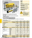 Bhp-Series del extractor hydráulico de Enerpac, conjuntos principales del tirador