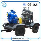 Bomba de água de superfície de escorvamento automático do motor Diesel de 6 polegadas