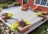 146X30 Waterproof o Decking estratificado do composto de China WPC