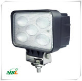 LED Work Light 50W High Lumen 4250lm 5PCS * 10W CREE LED 6000k / 4500k Couleur Lentille PC couleur, Support en acier inoxydable, EMC
