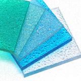 Hoja grabada PC de la gota de agua de la protuberancia de los materiales de construcción