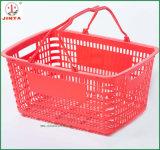 cesta de compra 21L plástica econômica com dois punhos