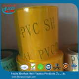 Het bulk Gordijn van de Strook van pvc van het anti-Insect van de Voorraad Gele Vlakke Plastic Vinyl