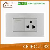 O interruptor branco o mais novo de Footlight do hotel do painel do PC 2016