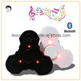Jouet de détente de doigt d'éclairage LED de Bluetooth tri