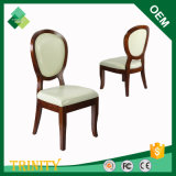 Europäischer Art-runde Rückseiten-Stuhl für Standardschlafzimmer in der Birke (ZSC-02)