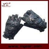 Handschoenen van het Leer van Airsoft Paintball van de Vinger van het Leger van de mep de Halve