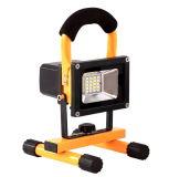 indicatore luminoso di inondazione ricaricabile portatile di 10W LED