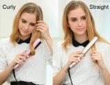 Do cabelo ajustável do vapor da temperatura ferro liso (V179)