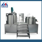 Fulukeの工場製品の表面クリーム1000Lの固定真空の均質化のミキサー