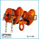 최신 판매 손은 트롤리 0.5t-10ton에 의하여 설치된 트롤리를 설치했다