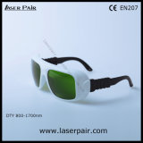 1400-1700nm protección Eyewear del laser de las gafas de seguridad de laser Lb3/1470nm de Dir con Frame36 ajustable