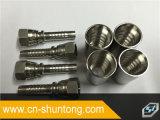 Aço inoxidável do conetor hidráulico