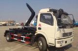8 Tonnen Dongfeng 6 Rad-heiße Verkaufs-der 8 t-Arm speichern Abfall-LKW aus