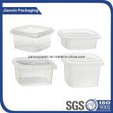 Recipiente plástico descartável desobstruído da caixa do alimento dos PP