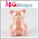 La Banca Piggy dell'orso sveglio del fornitore della fabbrica con stampa di colore