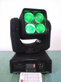 Mini bewegliches Licht der Summen-Wäsche-LED 4*4in1 12W des Kopf-LED