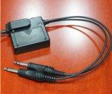 試験コミュニケーションヘッドセットのAnrの実行中の騒音減少