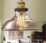 Светильник высокого качества трактира вися стеклянный одиночный привесной