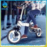 Bicicleta dobrada personalizada Portable da cidade da liga de alumínio da alta qualidade mini