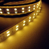 Solo color de doble hilera 120LED / M SMD 5050 LED