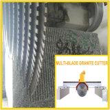 Multiblade 돌 브리지 절단기 Sawing 화강암 또는 대리석 구획 (DQ2200/2500/2800)