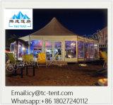 Alta multi tenda di circo su ordinazione impermeabile di evento dell'alto picco delle tende di esposizione di lati grande per 400 genti