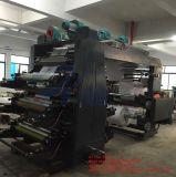 De economische Drukpers Flexo van de Printer van het Broodje van de Film van de Machine van de Druk van het Document Geweven niet