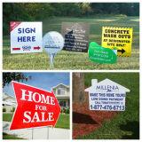 Самый лучший знак ярда Corflute цены с коль h, Signage Coroplast, Corrugated пластичным знаком