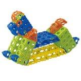 Brinquedos plásticos dos tijolos dos blocos de apartamentos do projeto de bloco de Modulmax